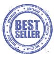 Grunge stamp bestseller vector image