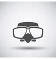 Scuba Mask Icon vector image