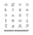 business management marketing plan manager vector image vector image