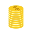 Coins icon Money design graphic vector image vector image