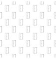 Door pattern seamless vector image