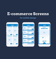 mobile app wireframe ui kit detailed wireframe vector image