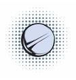 Pill comics icon vector image vector image
