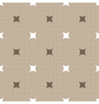 Seamless retro pattern Linen Vintage background vector image