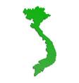 vietnam territory icon cartoon style vector image