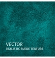 Blue-green suede background vector image vector image