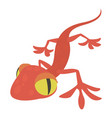 gecko icon cartoon style vector image vector image