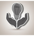 ideas isolated icon design vector image vector image