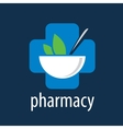 logo pharmacy vector image
