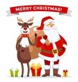 Santa Claus Cartoot old man vector image vector image