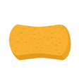 sponge for washing icon vector image