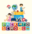 back to school design education idea vector image