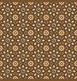 art work java batik unique motifs with seamless vector image vector image
