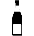 Champagne Bottle Tag vector image vector image