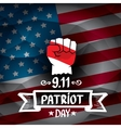 Patriot Day USA background vector image vector image