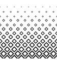 rhombus halftone background vector image vector image