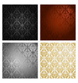 vintage background seamless pattern vector image vector image