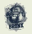 vintage urban typography vector image vector image