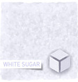 Sugar background vector image
