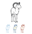 Bighorn Ram vector image