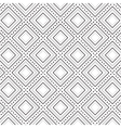 geometrical square pattern background vector image vector image