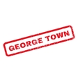 George Town Rubber Stamp vector image vector image
