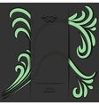 green accents vector image vector image