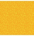 Orange and yellow dotted seamless pattern vector image vector image
