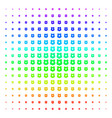 police shield icon halftone spectrum effect vector image vector image