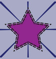 star tech background vector image vector image