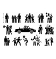 the perfect man boyfriend and husband stick vector image vector image