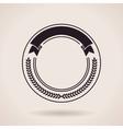 Stamp calligraphic design logo Luxury vector image