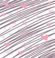Heart background for love concepts vector image