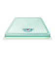 A weighing scale vector image