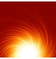 Abstract fire glow vector image vector image