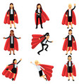 business women wearing formal office costumes with vector image vector image