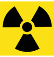 Caution Radiation Danger vector image