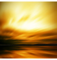 dramatic sky blur vector image vector image