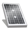 solar panel or alternative energy photovoltaic vector image