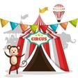 circus show design vector image