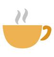 coffee cup or mug icon coffee - hot drink vector image vector image