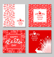 easter card4 set vector image
