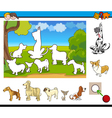 educational game for kids vector image vector image