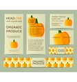Farm Fresh business corporate identity design with vector image