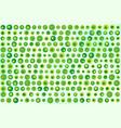green dots texture vector image vector image