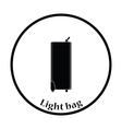 Icon of studio photo light bag vector image vector image