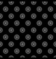 sewing pattern with buttons vector image