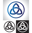 Celtic Trinity Knot vector image vector image