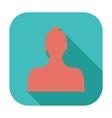 Female avatar single icon vector image