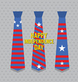 Happy Independence Day vector image vector image